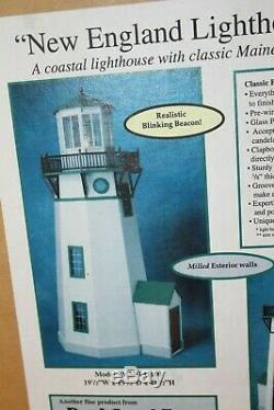 Real Good Toys 48 Tall New England Lighthouse Kit Wood USA made