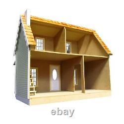 Real Good Toys Charlie's Cozy Cottage Dollhouse Kit