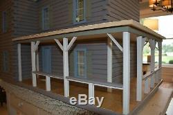 Real Good Toys Dollhouse The Ponderosa Log Cabin 36 X 22 X 32 Porch