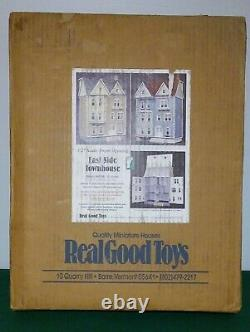 Real Good Toys East Side Townhouse Dollhouse Kit SEALED BOX