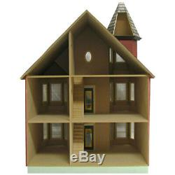 Real Good Toys JM4600 The Victorian Painted Lady Dollhouse Kit