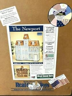 Real Good Toys NIB #71K Newport Dollhouse Kit 112