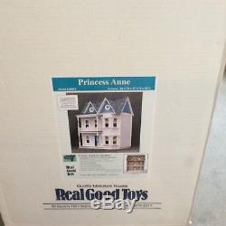 Real Good Toys PRINCESS ANNE Dollhouse Kit 112 Scale Unopened Box