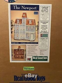 Real Good Toys The Newport Dollhouse Kit NEW Discontinued