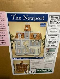 Real Good Toys The Newport Dollhouse NIB Model #71K Kit