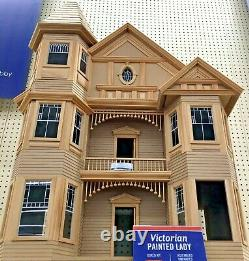 Real Good Toys Victorian Painted Lady Dollhouse Kit NEW SHIPS FREE 2-DAY EXPRESS