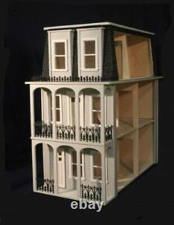 Saint Charles 1 Inch Scale Dollhouse Kit By Majestic Mansions
