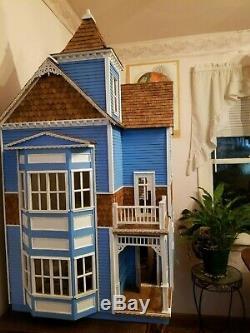 Semi-built Victorian Dollhouse Kit