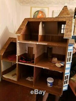 Semi-built Victorian Dollhouse Kit PICKUP ONLY