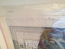 Sharon Garmize Kit for Miniature Rug Making with Chart Silk Gauze +Floss KAZAK