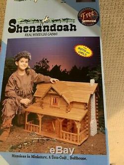 Shenandoah dollhouse kit log cabin dollhouse kit- cabin dollhouse