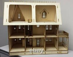 Stephanie Country Mansion (124 scale) Kit