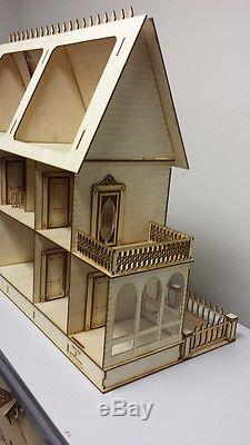 Stephanie Country Mansion Half inch scale Kit
