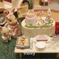 Sylvanian Families Forest Wedding Party Set Piano Car Calico Critters Epoch