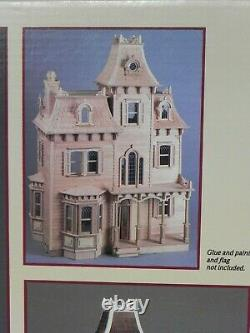 The Beacon Hill Dollhouse Kit By Greenleaf 8002