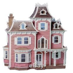 The Beacon Hill Dollhouse Kit By Greenleaf Dollhouses