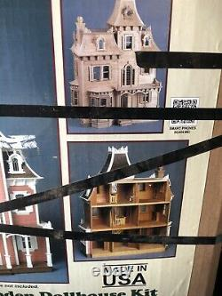 The Beacon Hill Wooden Dollhouse Kit Vintage Greenleaf Dollhouses Made In USA