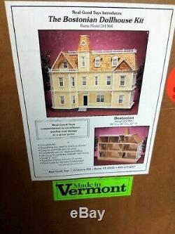 The Bostonian Dollhouse Kit Real Good Toys NIB