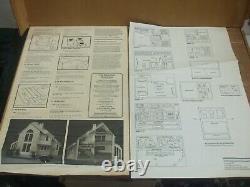 The Brookwood Wooden Dollhouse Kit # 8017 unbuilt in Original Box By Greenleaf