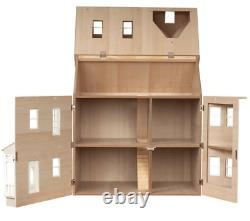 The Exmouth Dolls House Painted Flat Pack Kit 112 Scale