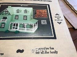 The Franklin Dollhouse Kit, Model #124 by Artply Co. Inc, Vintage 1978