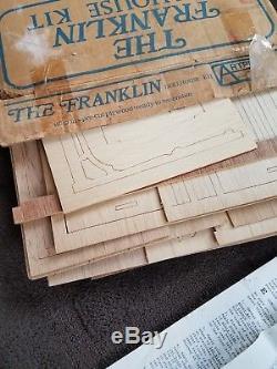 The Franklin Dollhouse Kit, Model #124 by Artply Co. Inc, Vintage 1979