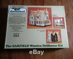 The Garfield Wooden Doll House Kit Victorian Brand New