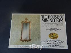 The House Of Miniatures Hepplewhite Pier Mirror Kit/ Circa 1770 #42420