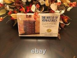 The House of Miniatures Mini Dollhouse Furniture Kits + Extras LOT 1980s