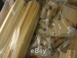 The Newport Wood Dollhouse Kit Real Good Toys Brand New Open Box 112 Vintage