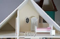 The Painted Lady Dollhouse, Large Victorian, Fully Assembled with Furniture