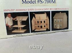 The Simplicity Wooden Doll House S-700M Retired New in Box
