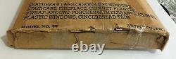The Tennyson Wood Dollhouse Kit By Artply Gingerbread Victorian House NIB