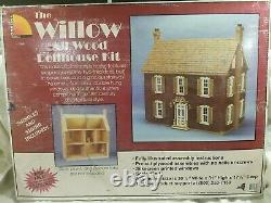The Willow All Wood Dollhouse Kit 1 Scale