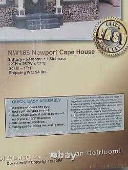 VINTAGE Duracraft -Newport Cape- wood Dollhouse Kit