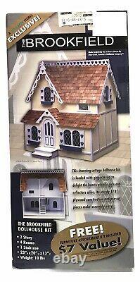 VTG Dura-Craft Dollhouse The Brookfield Dollhouse Kit WithFurniture Kit