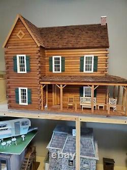 VTG Rare Real Good Toys THE PONDEROSA Large dollhouse kit 112 wood