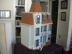 Victorian Alison Jr Dollhouse Assembled & Refurbished 112 Scale