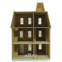 Victorian Alison Jr Dollhouse J-M907 Complete Kit 9 Rooms 38.5 x 24 x 16.5
