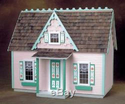 Victorian Style Cottage Milled Plywood Dollhouse Kit FREE SHIP in US