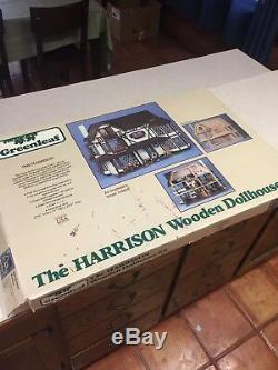 Vintage 1979 Greenleaf The Harrison Dollhouse Kit #8006 NEW IN BOX