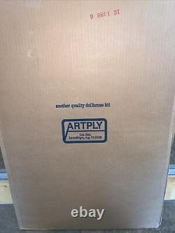 Vintage 1982 Artply The Worthington Wood Dollhouse Model Kit No. 136 Unopened Box