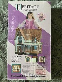 Vintage DURA CRAFT HERITAGE DOLL HOUSE Mini Mansion H560 BOX SEALED Craft Kit