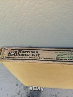 Vintage Dollhouse Kit The Harrison 1979 Greenleaf 8006 Unopened Sealed Box