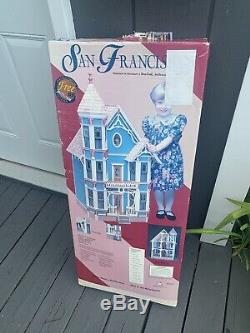 Vintage Dura-Craft San Franciscan Dollhouse SF 555 1994 NEW IN BOX W Receipt