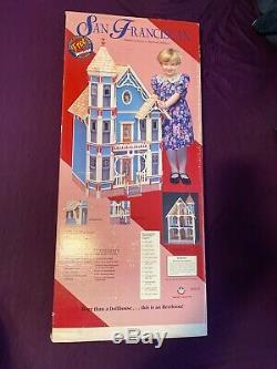 Vintage Dura-Craft San Franciscan Dollhouse SF 555 1994 Unopened Box