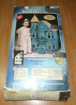 Vintage Dura-Craft San Franciscan Victorian Dollhouse Kit SF 557