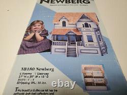Vintage Dura Craft Victorian Dollhouse Kit NB180 Newberg New Old Stock Sealed