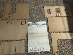 Vintage Greenleaf Arthur Dollhouse Kit Model 8012
