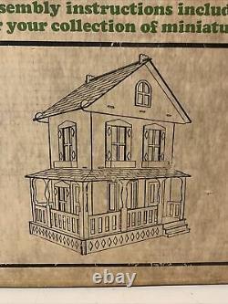 Vintage Greenleaf The Washington Dollhouse Kit, New In Box
